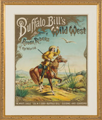 "William F. ""Buffalo Bill"" Cody and Buffalo Bill's Wild West: The Iconic Nine-Color ""White Eagle"" Cod..."