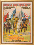"""Antiques:Posters & Prints, William F. """"Buffalo Bill"""" Cody's Wild West: The Classic """"EntenteCordiale"""" Poster...."""