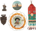 "Advertising:Small Novelties, William F. ""Buffalo Bill"" Cody: Five Lookout Mountain Souvenirs...."