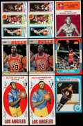 Basketball Cards:Lots, 1969-87 Basketball & Hockey Collection (9)....