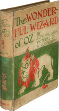 Books:Children's Books, L. Frank Baum. The Wonderful Wizard of Oz. Chicago and NewYork: Geo. M. Hill Co., 1900. First edition....