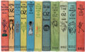 Books:Children's Books, L. Frank Baum. Group of Eleven Oz Books. Chicago: The Reilly &Britton Co., [1904-1918]. First editions, generally first sta...(Total: 11 Items)