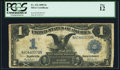 Large Size:Silver Certificates, Fr. 232 $1 1899 Silver Certificate PCGS Fine 12....