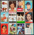 Baseball Cards:Lots, 1960-69 Post/Topps Baseball Stars & HoFers Collection (28)....