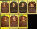 Autographs:Post Cards, Signed Baseball Hall of Fame Postcards Lot of 7. ...