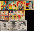 Baseball Cards:Lots, 1934 to 1948 Baseball Collection Including Jackie Robinson (18)....