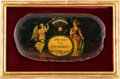 Political:3D & Other Display (pre-1896), George Washington: Extraordinary Snuff Box Lid. ...