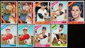 Baseball Cards:Lots, 1966 Topps Baseball Stars and HoFers Collection (9). ...