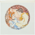 Animation Art:Concept Art, Cinderella Collector's Plate Concept Art Group of 11 (WaltDisney, c. 1980s).... (Total: 11 Items)