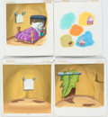 Animation Art:Painted cel background, Chip 'n' Dale Book Painted Backgrounds Group of 8 (Walt Disney, c. 1990s).... (Total: 8 Original Art)