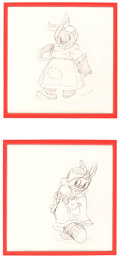 Animation Art:Production Drawing, Broken Toys Animation Drawing Group of 2 (Walt Disney,1935)....