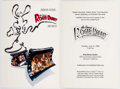 Memorabilia:Disney, Who Framed Roger Rabbit Cards and Stationery (WaltDisney/Amblin, 1989).... (Total: 9 Items)