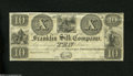 Obsoletes By State:Ohio, Franklin, Portage Co, OH- Franklin Silk Company $10 18__ BenjaminFranklin appears at left on this company issued note that...