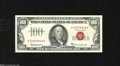 Small Size:Legal Tender Notes, Fr. 1551 $100 1966A Legal Tender Note. Choice About New. Just a wonderful note to look at as all four margins are absolutel...