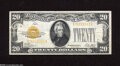 Small Size:Gold Certificates, Fr. 2402 $20 1928 Gold Certificate. Very Fine-Extremely Fine....