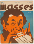 Magazines:Miscellaneous, The Masses #72 (The Masses Publishing Company, 1917) Condition:GD/VG Slightly Brittle Pages....