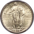 Standing Liberty Quarters, 1917 25C Type One MS67 Full Head PCGS Secure....