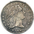 Early Half Dimes, 1794 H10C V-4, LM-4, R.4 -- Repaired -- PCGS Genuine. XF D...