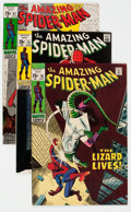 Bronze Age (1970-1979):Superhero, The Amazing Spider-Man Group of 14 (Marvel, 1969-71) Condition: Average VF-.... (Total: 14 Comic Books)