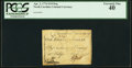 Colonial Notes:North Carolina, North Carolina April 2, 1776 $1/8 Dog PCGS Extremely Fine 40.. ...