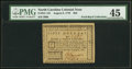 Colonial Notes:North Carolina, North Carolina August 8, 1778 $50 The Rising States PMG Choice Extremely Fine 45.. ...