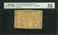 Colonial Notes:North Carolina, North Carolina December 29, 1785 40s Justice PMG About Uncirculated53.. ...
