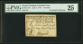 Colonial Notes:North Carolina, North Carolina April 2, 1776 $1/2 Owl PMG Very Fine 25.. ...