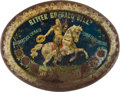 "Advertising:Medicinal, William F. ""Buffalo Bill"" Cody: Rare Tin Lithograph Bitters Advertising Tray. ..."