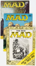 Magazines:Mad, MAD Magazine Group of 14 (EC, 1955-59) Condition: Average VG+.... (Total: 14 Comic Books)