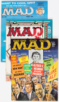 Magazines:Mad, MAD Magazine Group of 8 (EC, 1959-61) Condition: Average VF-.... (Total: 8 Comic Books)