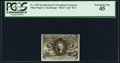 Fractional Currency:Second Issue, Fr. 1235 5¢ Second Issue PCGS Extremely Fine 45.. ...