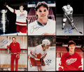 Autographs:Photos, Detroit Red Wings Greats Signed Photograph Lot of 6.. ...