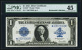 Large Size:Silver Certificates, Fr. 238* $1 1923 Silver Certificate PMG Choice Extremely Fine 45.....