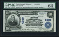 National Bank Notes:Missouri, Saint Joseph, MO - $10 1902 Plain Back Fr. 631 The First NB Ch. #4939. ...