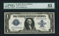 Large Size:Silver Certificates, Fr. 239 $1 1923 Silver Certificate PMG Choice Extremely Fine 45.....