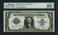 Large Size:Silver Certificates, Fr. 239 $1 1923 Silver Certificate PMG Choice Uncirculated 64 EPQ.....
