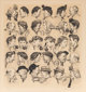 Norman Rockwell (American, 1894-1978) Gossips Lithograph on paper 19-1/2 x 18 inches (49.5 x 45.7 cm) (image) Ed. 19