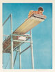Norman Rockwell (American, 1894-1978) High Dive Lithograph in colors on paper 23 x 17-3/4 inches (58.4 x 45.1 cm) (im