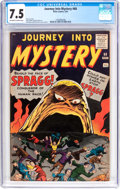 Silver Age (1956-1969):Horror, Journey Into Mystery #68 (Marvel, 1961) CGC VF- 7.5 Off-white towhite pages....