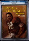 Football Collectibles:Publications, 1960 Jim Brown First Sports Illustrated Cover CGC 7.5 - None Higher.. ...
