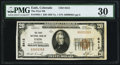 National Bank Notes:Colorado, Eads, CO - $20 1929 Ty. 1 The First NB Ch. # 8412. ...