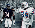 Autographs:Photos, Earl Campbell Signed Oversized Photograph.. ...