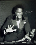 Autographs:Photos, Earl Campbell Signed Oversized Photograph. . ...