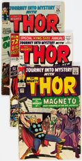 Silver Age (1956-1969):Superhero, Journey Into Mystery/Thor Group of 4 (Marvel, 1964-66) Condition: Average VG.... (Total: 4 Comic Books)