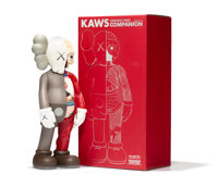 KAWS (b. 1974) Dissected Companion, 2006 Painted cast vinyl 14-3/4 x 6-1/2 x 3-1/2 inches (37.5 x