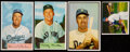 Baseball Cards:Lots, 1950 to 1954 Bowman Baseball Collection (4) Including Mantle. ...