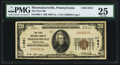 National Bank Notes:Pennsylvania, Shoemakersville, PA - $20 1929 Ty. 1 The First NB Ch. # 11841. ...