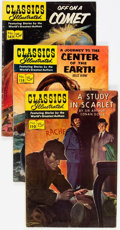 Silver Age (1956-1969):Classics Illustrated, Classics Illustrated Short Box Group (Gilberton, early 1950s-early1960s) Condition: Average VG+....