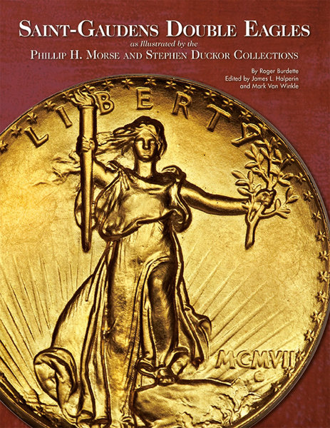 5b6bf7ac The Coinage of Augustus Saint-Gaudens as Illustrated by the M. . .