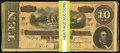 Confederate Notes:1864 Issues, T68 $10 1864 100 Examples.. ... (Total: 100 notes)